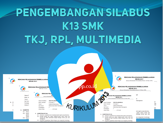 silabus SMK TKJ, RPL, dan Multimedia