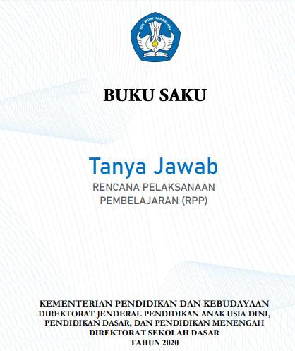 Buku Saku Tanya Jawab RPP SD, SMP, SMA dan SMK