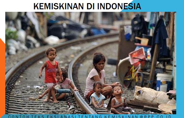 Contoh teks eksplanasi singkat tentang kemiskinan