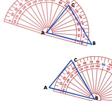 Cara Mengukur Sudut Bangun Datar Dengan Busur Derajat Kelas 4